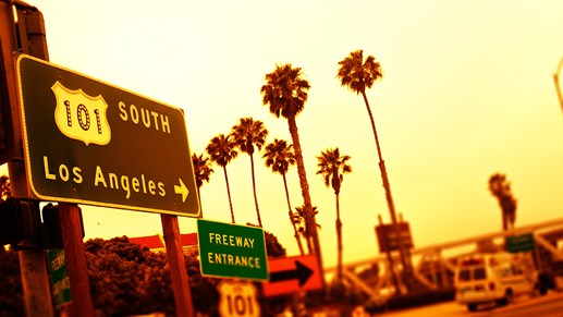 Road trip i Californien