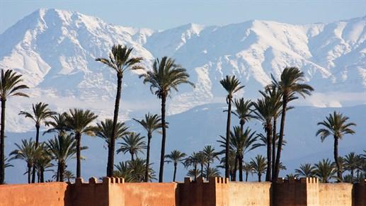 marrakech vejr marts