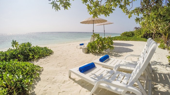 Bo lige ved stranden - Ocean Grand, The Maldives