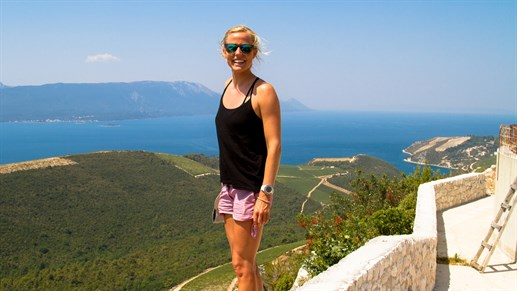 Lapoint Neretva Girl With View