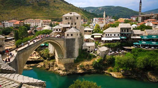Lapoint Neretva River Bridge