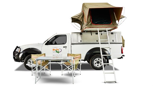 Campervan er perfekt for to til dit road trip i afrika