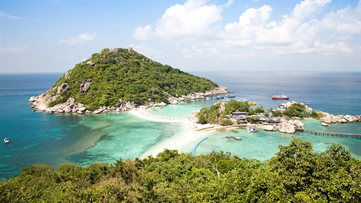 Koh Tao is one of Thailands most beautiful islands