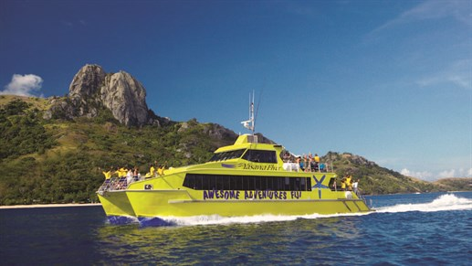 The Yasawa Flyer catamaran