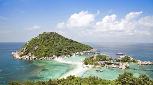 Billige rejser til Koh Tao, Thailand - backpacking med KILROY