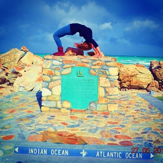 Rejsebillede - Cape Town Agulhas Indian Ocean Atlantic Ocean Mia