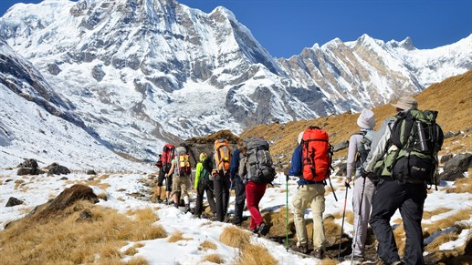 trek i nepal - backpacking i nepal